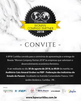 BRASÃO WOMAN COMPANY PARTNER 2018