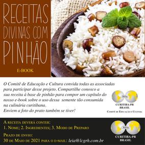 RECEITAS DIVINAS COM PINHÃO