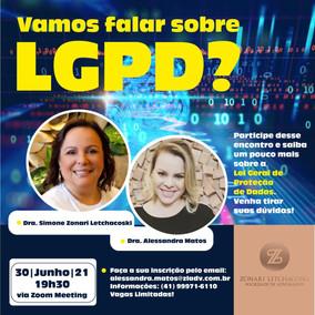 Vamos falar sobre LGPD?