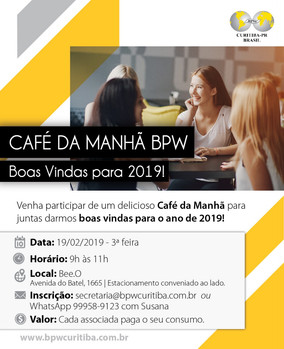 CAFÉ DA MANHÃ BPW