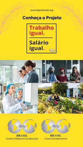 TRABALHO IGUAL SALÁRIO IGUAL