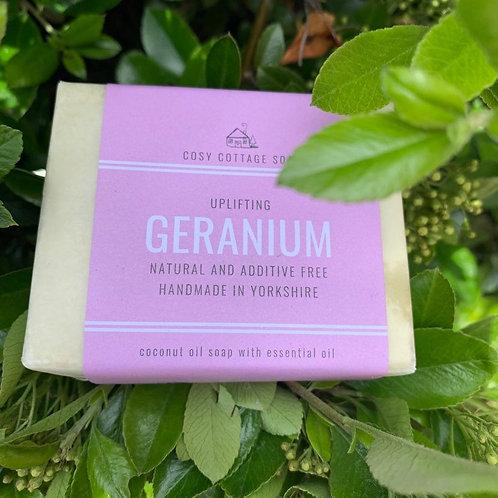 Uplifting Geranium soap