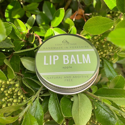 Apple lip balm