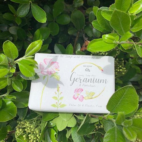 Luxury Geranium soap