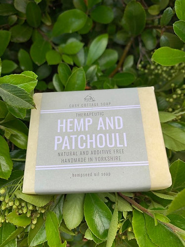 Hemp and Patchouli Soap