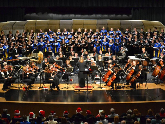 The Toledo Orchestra and local choirs
