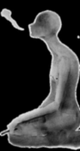 Dark Figure Smoking