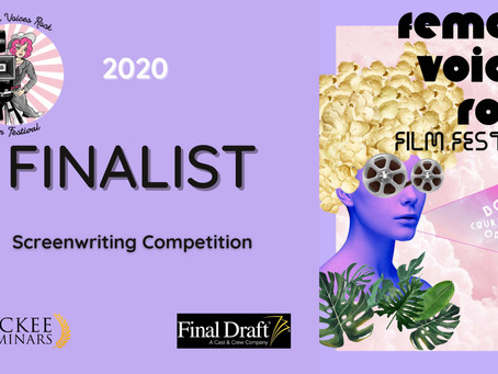 2020 Female Voices Rock  Screenwriting Competition Finalists