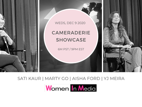 Women in Media: CAMERAderie Showcase