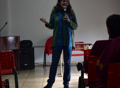 Hoy nos visito la escritora Paula Bombara