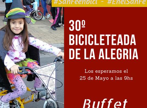 30º Bicicleteada de la Alegría
