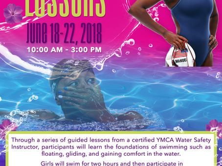Free Swimming lessons! Please sign your daughter up soon. We have 10 spots remaining.
