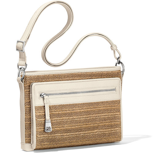 Brooklyn Straw Cross Body Organizer
