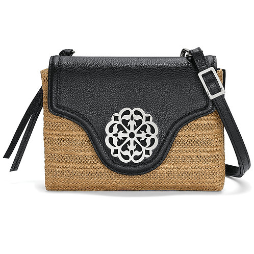 Eve Straw Messenger Cross Body