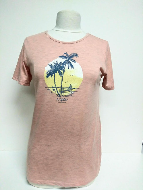 Sun Washed Palm Tee