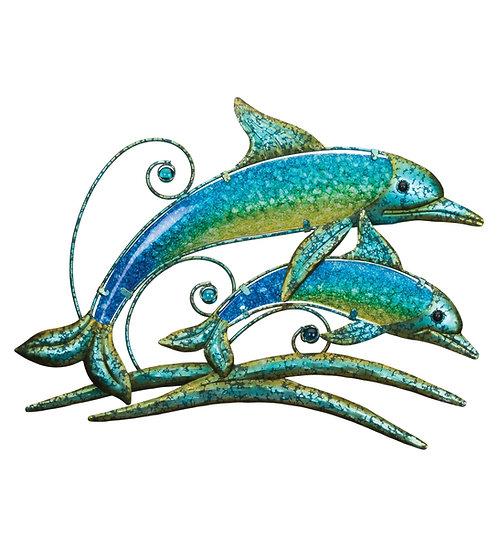 Double Dolphin Decor