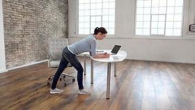 Rücken Home Office Büro