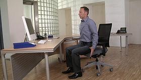 Rückenschmerzen Übungen Büro Homeoffice