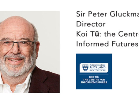 Sir Peter Gluckman, Director of Koi Tū and ex-Chief Science Advisor to New Zealand's Prime Minister