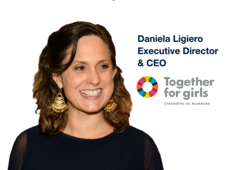 Executive Director & CEO of Together for Girls, Daniela Ligiero talks about tackling sexual violence
