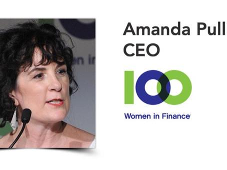 Amanda Pullinger, CEO, 100 Women in Finance