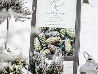 Jul i plantekaféen