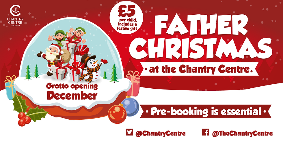 Christmas Grotto: Thursday 24 December 2020