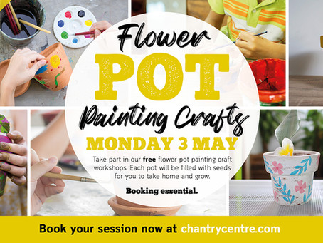 Take part in our Plant Pot Painting event!