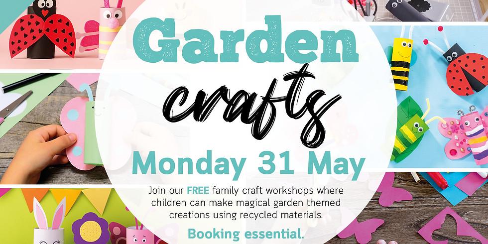 Spring Craft Workshop: Garden Crafts