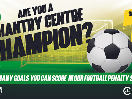 Are you a Chantry Centre Champion? Find out in our football event!