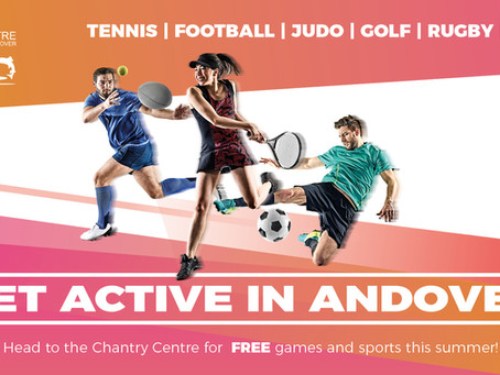 Get Active in Andover!