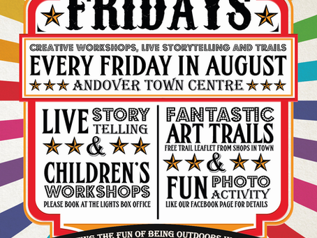 All the family can enjoy Four Fun Fridays!