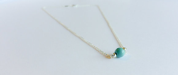 December Mini Birthstone Necklace