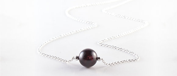 January Birthstone Necklace