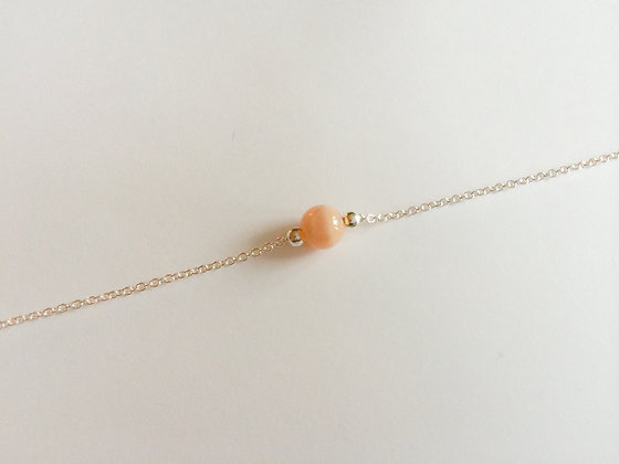 October Mini Birthstone Bracelet