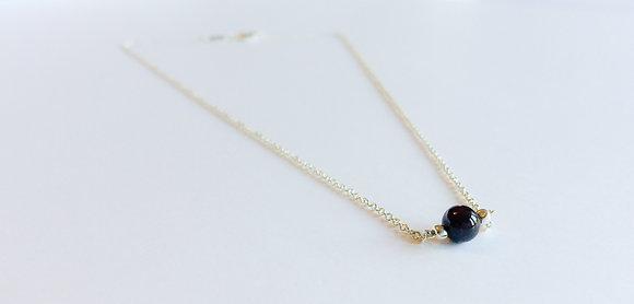 August Mini Birthstone Necklace