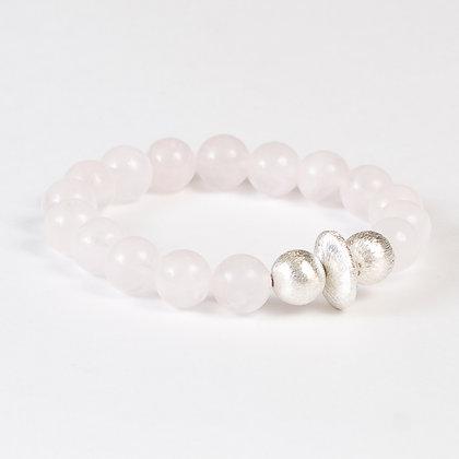 Rose Quartz Bonbon Bracelet