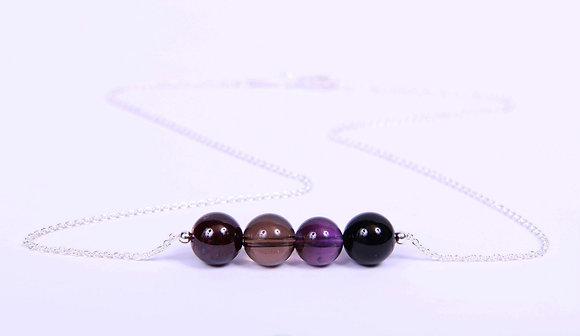 Multi Birthstone Necklace