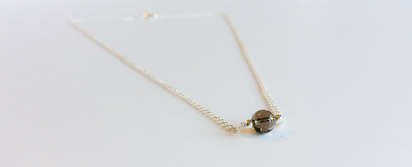April Mini Birthstone Necklace