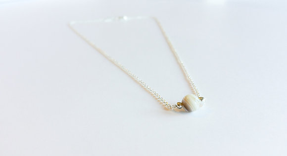 May Mini Birthstone Necklace