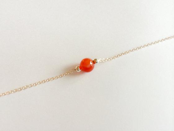July Mini Birthstone Bracelet
