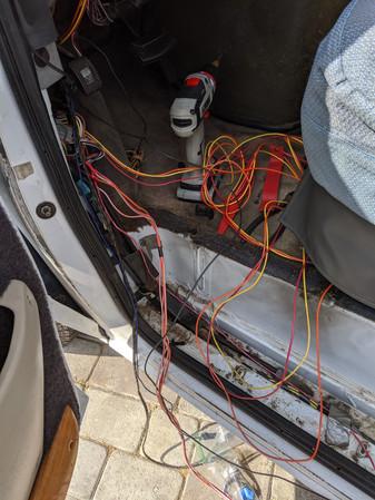So much wiring.....