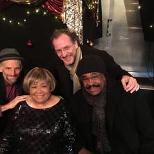 With Mavis Staples & George McCrae