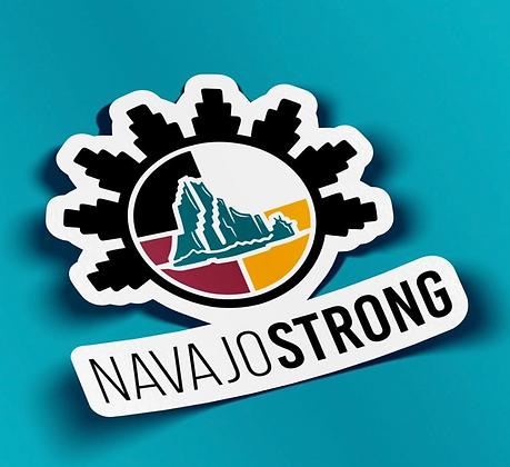 "3"" NavajoStrong Logo Sticker"
