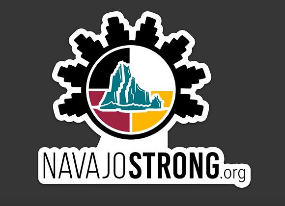 "5"" NavajoStrong.org Sticker"