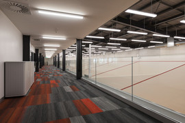 The Mezzanine overlooking the Squash Courts