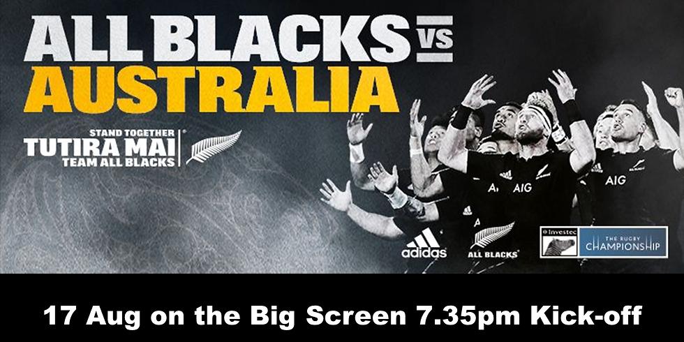 ALL BLACKS vs AUSTRALIA