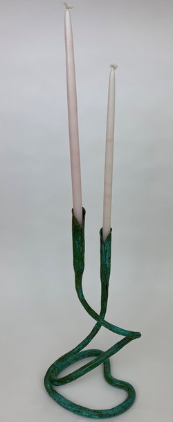 Calla Lily Candle Holder (Vg)