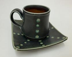 Dots Mug & Saucer