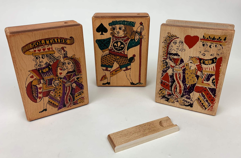 Folk Art Card Boxes